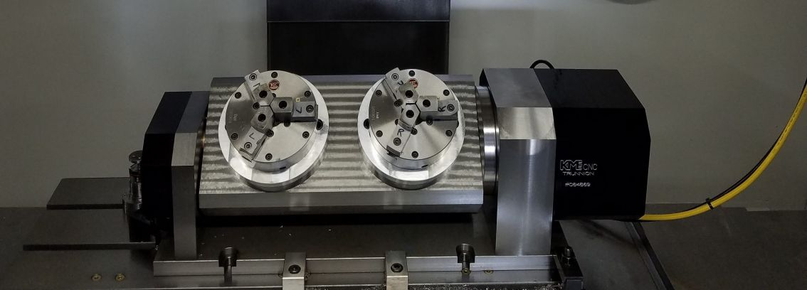 Large 5 Axis Trunnions