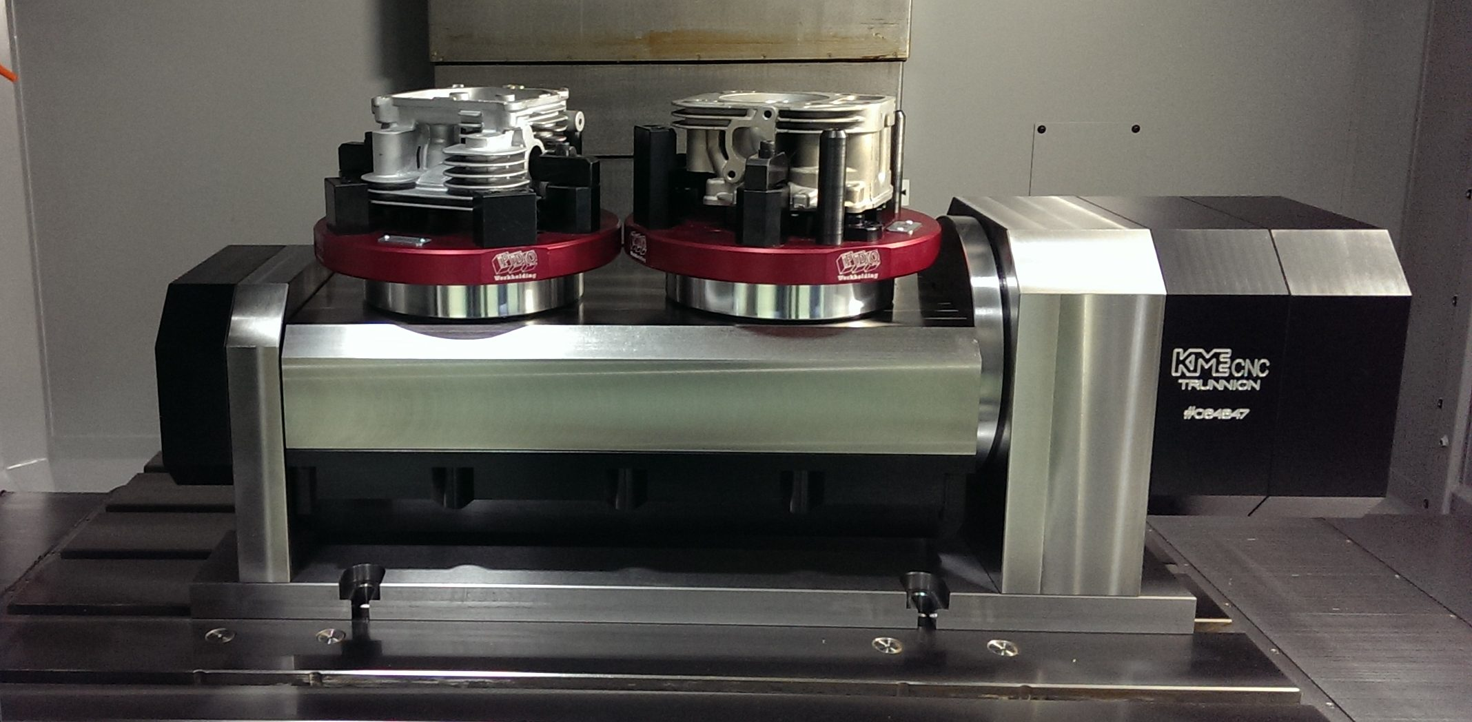 Trunnion Tables For 5 Axis Machining Vmcs Kme Cnc 5
