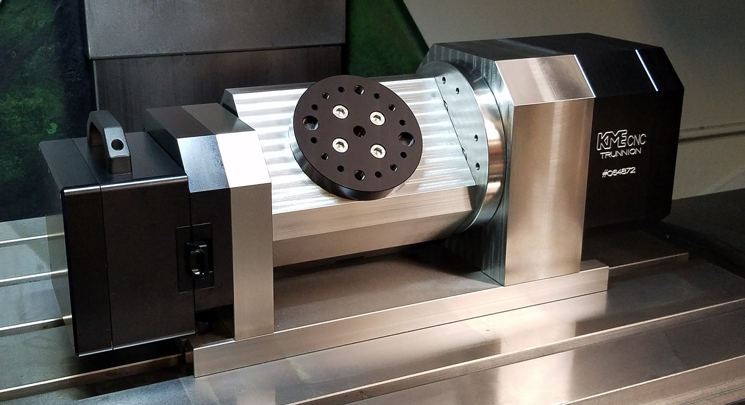 wireless 5 axis trunnion